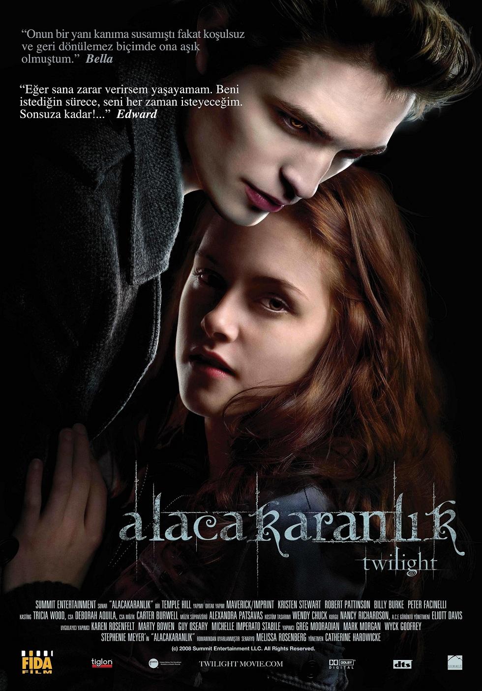 Alacakaranlık – Twilight 2008 Türkçe Dublaj izle
